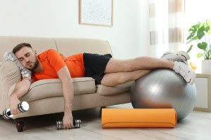 Exercise tips for lazy people