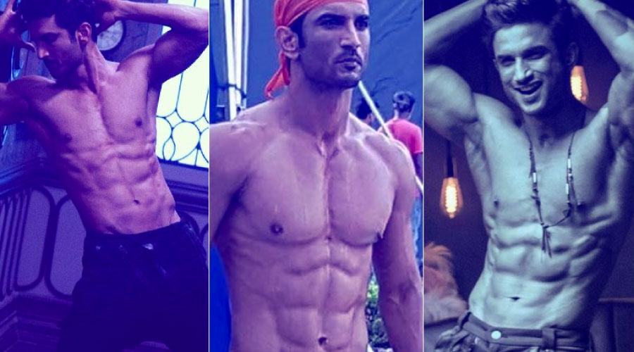 Sushant Singh Rajput Workout and Diet Plan - 8 Pack Abs In 8 Weeks